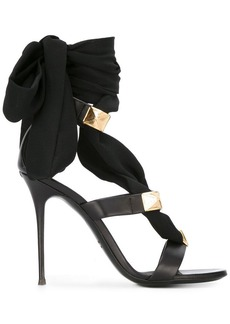 Giuseppe Zanotti ribbon stiletto sandals