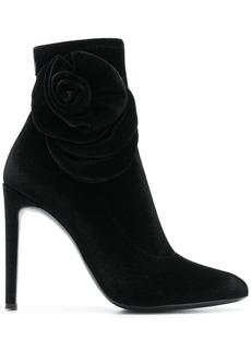 Giuseppe Zanotti rose detail stiletto booties