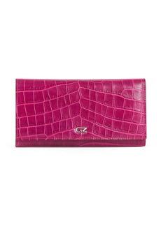 Giuseppe Zanotti Selene crocodile-effect wallet
