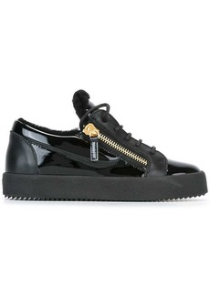 Giuseppe Zanotti shearling 'Nicki' sneakers