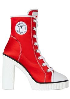 Giuseppe Zanotti side-logo sneaker boots