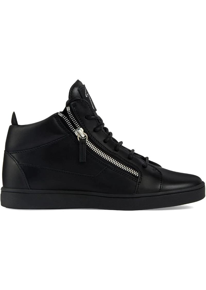 Giuseppe Zanotti side zip high top sneakers