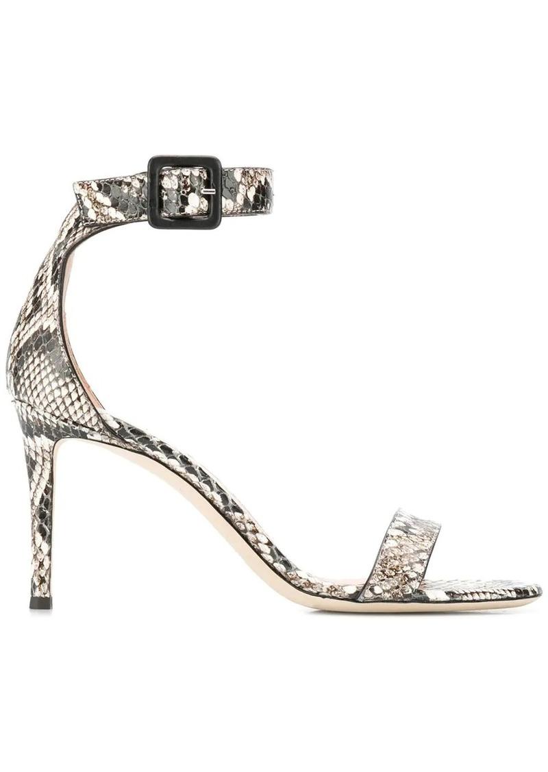 Giuseppe Zanotti snakeskin effect sandals