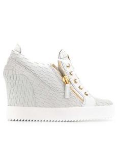 Giuseppe Zanotti Sonya wedge sneakers