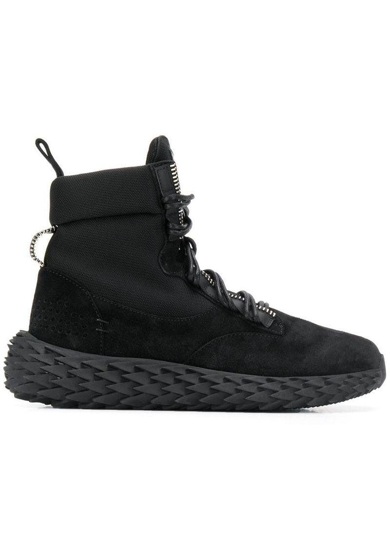 Giuseppe Zanotti spiked sole boots