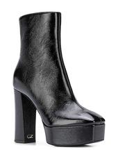 Giuseppe Zanotti square toe ankle boots