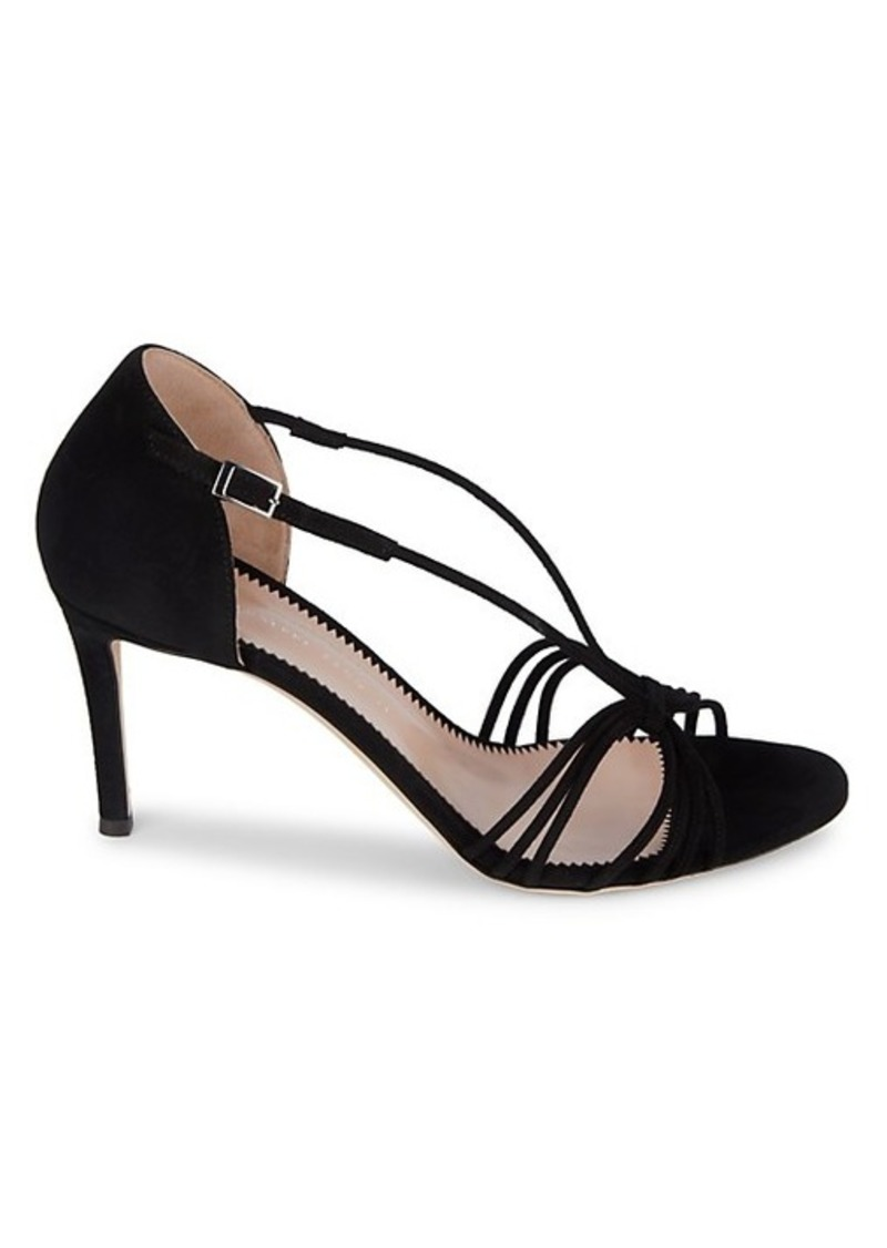 Giuseppe Zanotti Strappy Suede High-Heel Sandals