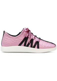 Giuseppe Zanotti textured sneakers