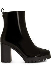 Giuseppe Zanotti track sole ankle boots