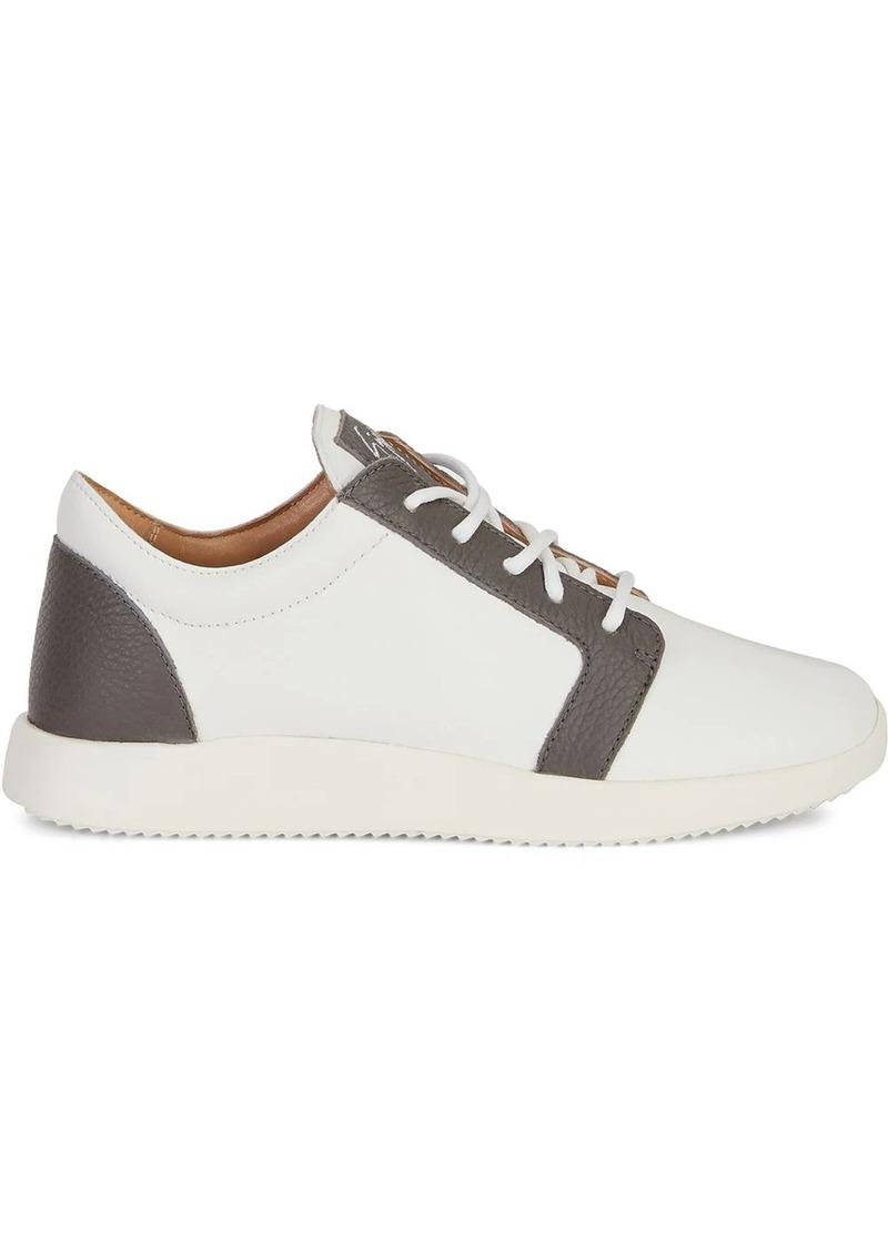 Giuseppe Zanotti two-tone low-top sneakers
