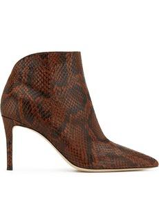 Giuseppe Zanotti Tysha snake-effect ankle boots