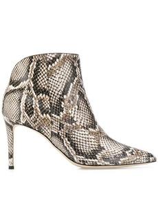 Giuseppe Zanotti Tysha snakeskin effect boots