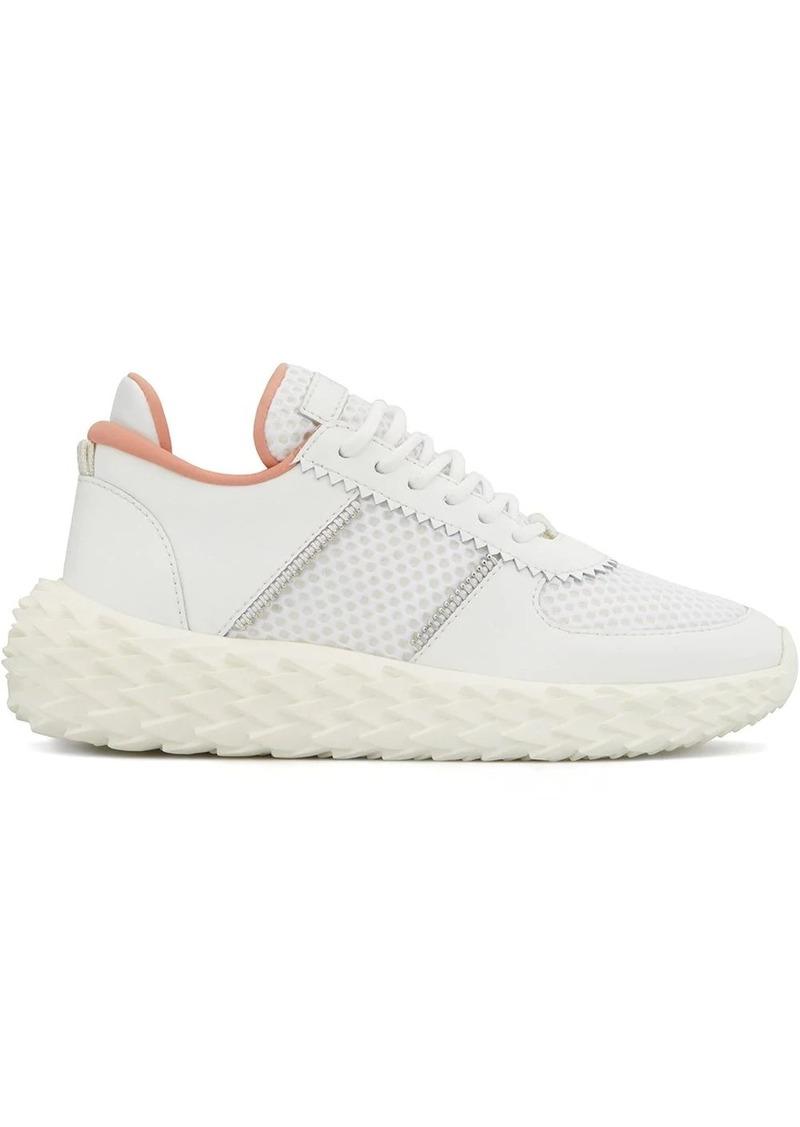 Giuseppe Zanotti Urchin mesh panelled sneakers