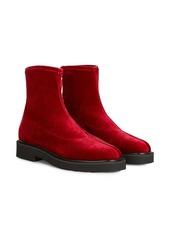 Giuseppe Zanotti velvet-effect ankle boots