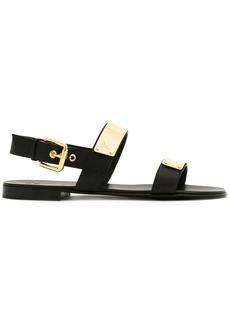 Giuseppe Zanotti Zak metal plate sandals