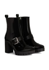 Giuseppe Zanotti Zandra buckle detail boots