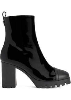 Giuseppe Zanotti Zandra patent leather ankle boots