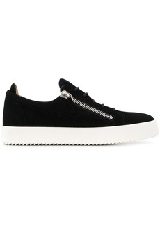 Giuseppe Zanotti zip detail low top trainers