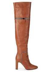 Giuseppe Zanotti Zip-Off Over-the-Knee Leather Boots