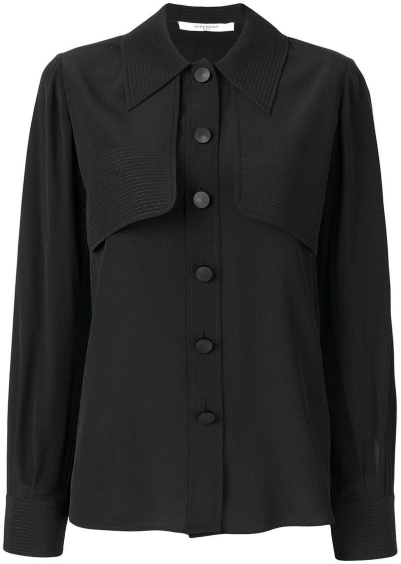 Givenchy layered front shirt