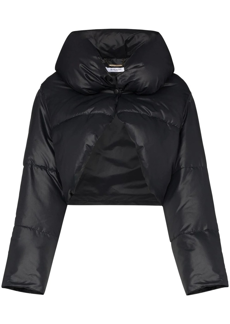 Givenchy bolero puffer jacket