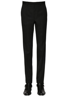 Givenchy 18.5cm Wool Trousers W/logo Details