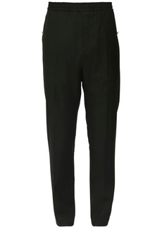 Givenchy 18.5cm Wool Twill Jogging Pants