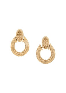 Givenchy 1980's door-knocker earrings