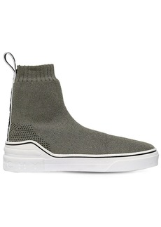 Givenchy 30mm George V Lurex Knit Sneakers
