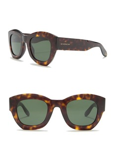 Givenchy 48mm Round Square Sunglasses