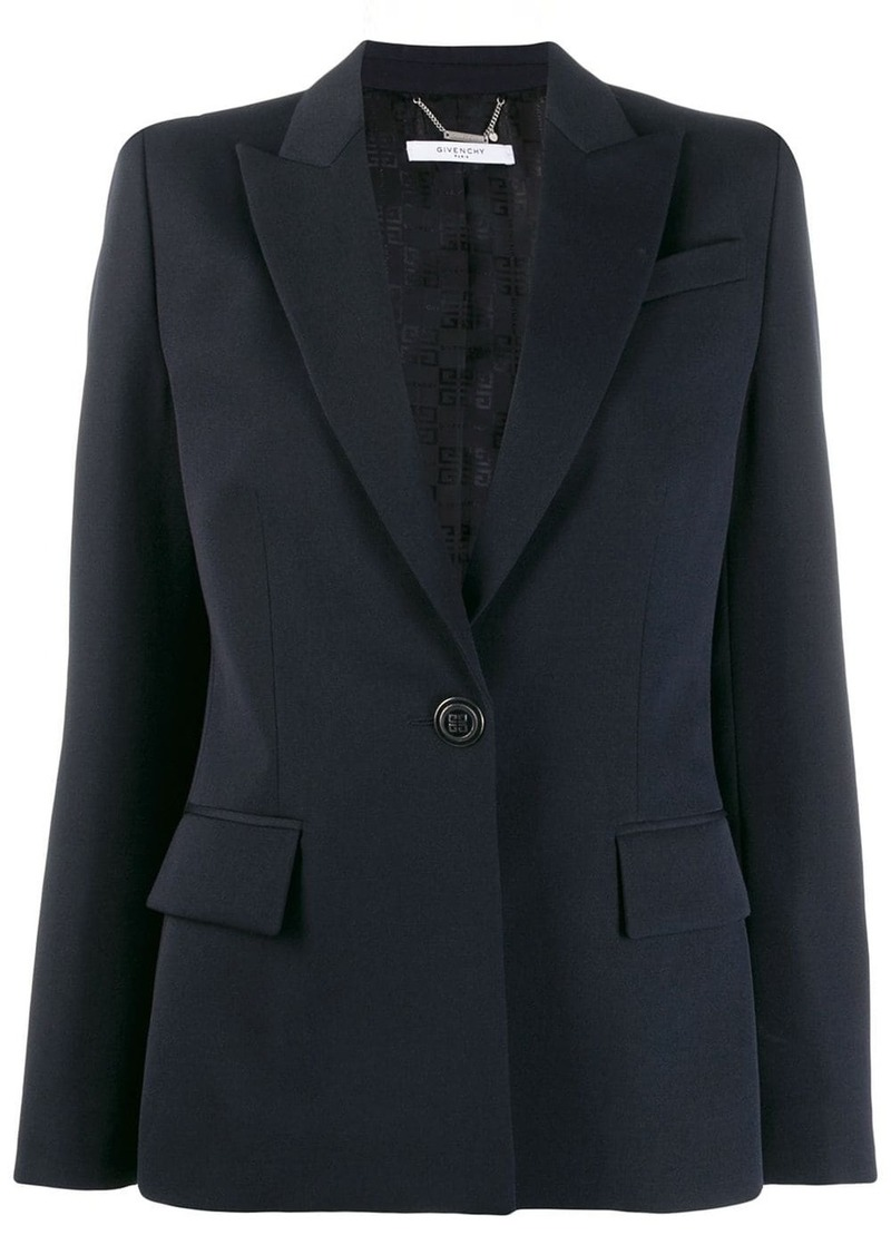 Givenchy 4G buttoned blazer