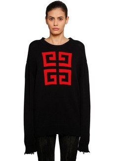 Givenchy 4g Intarsia Cotton Sweater