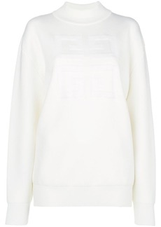 Givenchy 4G logo high-neck sweatshirt