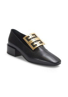 Givenchy 4G Ornament Leather Loafers