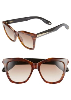 Givenchy 53mm Cateye Sunglasses