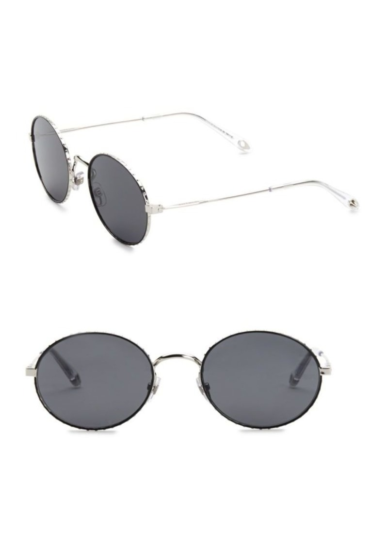 cf2fdf249a45c Givenchy 53MM Round Sunglasses