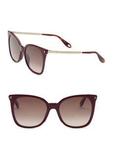 Givenchy 54MM Cat Eye Sunglasses