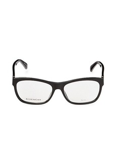 Givenchy 54MM Rectangle Optical Glasses