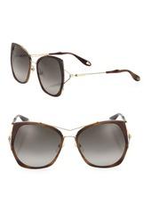 Givenchy 55MM Angular Sunglasses