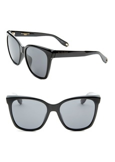 Givenchy 55MM Cat Eye Sunglasses