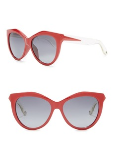 Givenchy 55mm Cat Eye Sunglasses