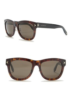 Givenchy 56mm Square Sunglasses