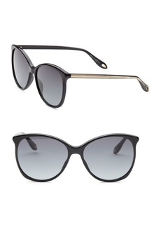 Givenchy 58MM Cat Eye Sunglasses