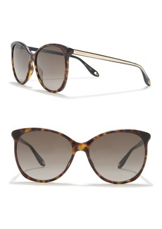 Givenchy 58mm Oversize Sunglasses