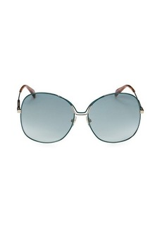 Givenchy 61MM Round Sunglasses