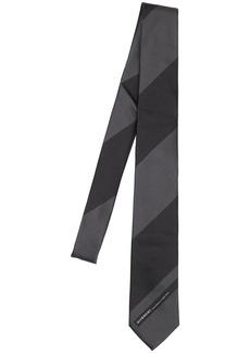 Givenchy 6.5cm Logo Striped Silk Tie