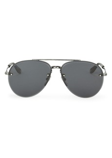 Givenchy 7075 Matte Aviator Sunglasses