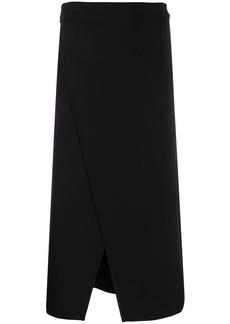 Givenchy asymmetric high-waisted skirt