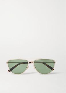 Givenchy Aviator-style Gold-tone And Tortoiseshell Acetate Sunglasses