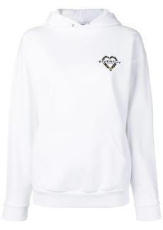 Givenchy beaded logo hoodie